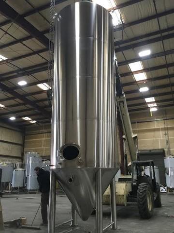 100 bbl fermenter vessel