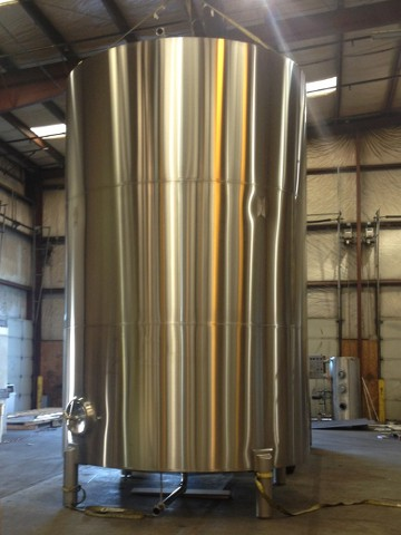 Brewery cold liquor tank