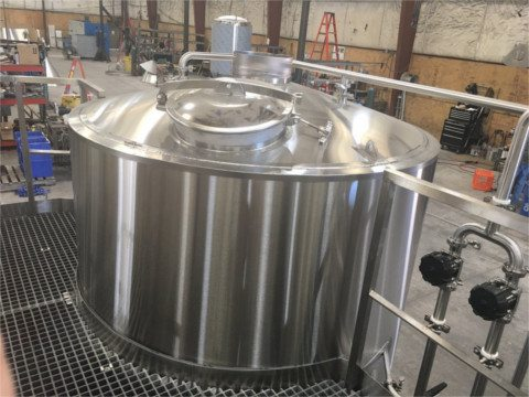 micro brewery kettle