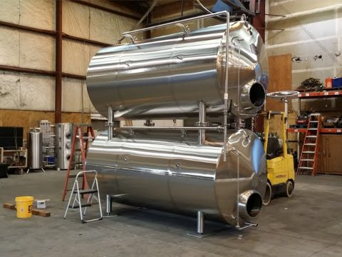 finished maturation tanks