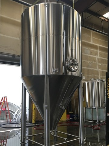 microbrewery fermenter vessel