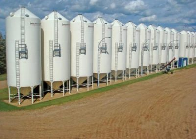 Brewery Spent Grain Silo