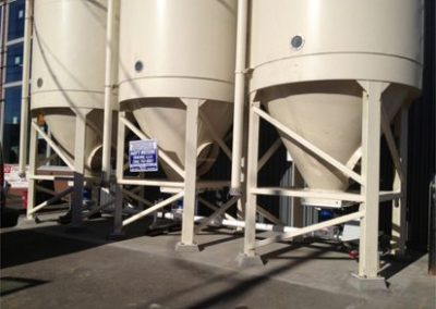 3 silos