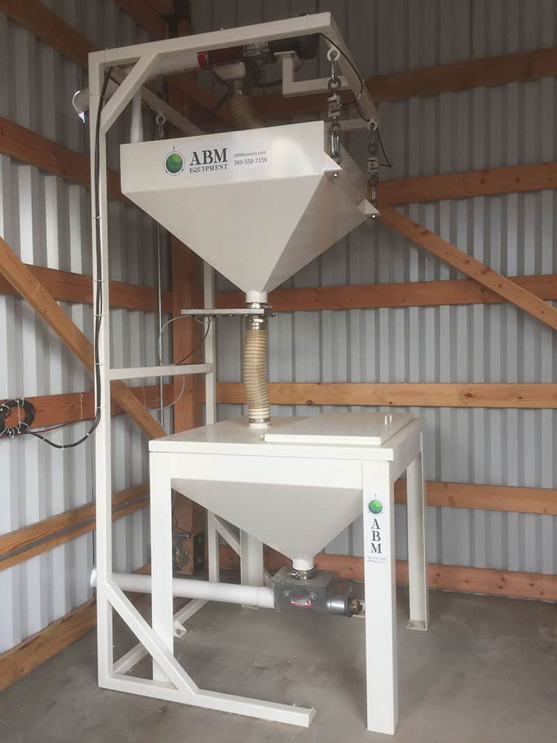 scale package for weighing grain for brewing