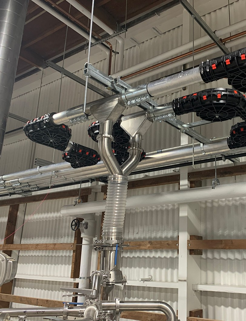 Brewery Chain Disk System Going into Y input