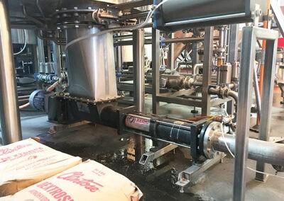Brewery progressive cavity pump