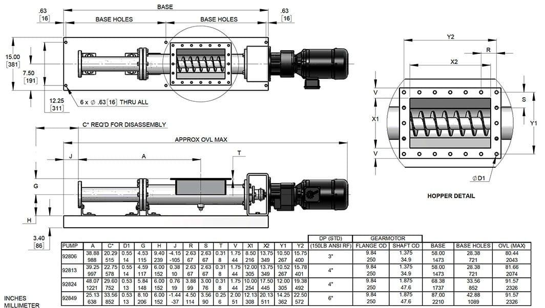 ABM spent grain pump diagram